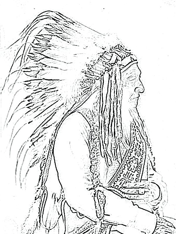 600x799 American Indian Coloring Pages Animal Coloring Pages For Adults