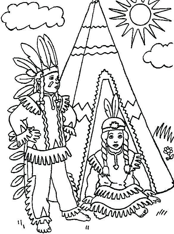 585x789 Free Printable Native American Coloring Pages Free Printable
