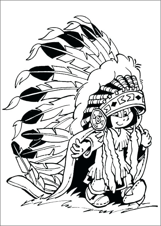 567x794 Native American Coloring Page First Nations Coloring Pages Native