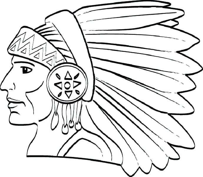 689x600 Native American Coloring Pages Printable Printable Native Coloring