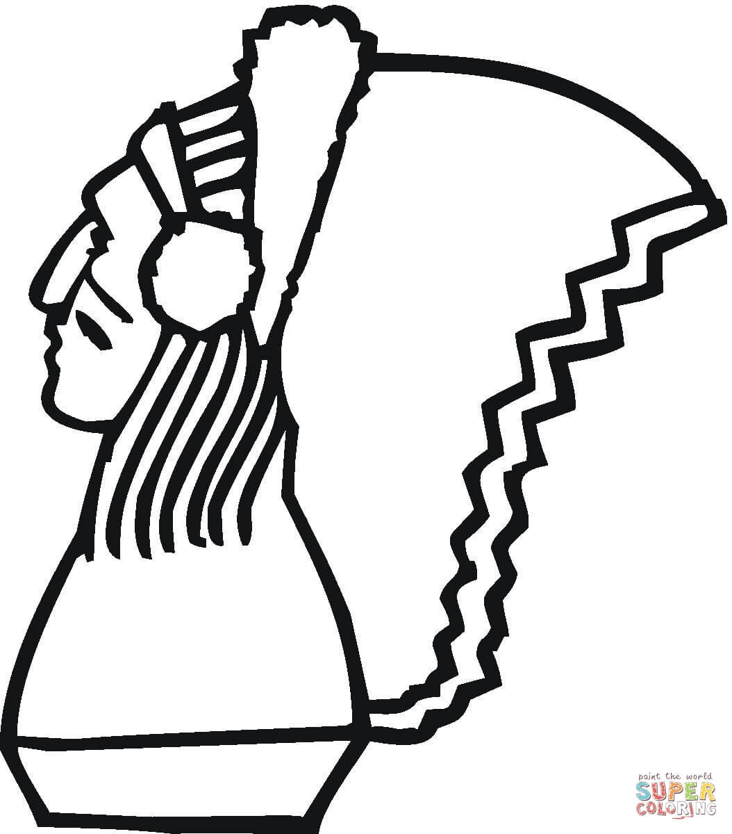 1054x1200 Nice Native American Coloring Pictures Indian Woman Pages