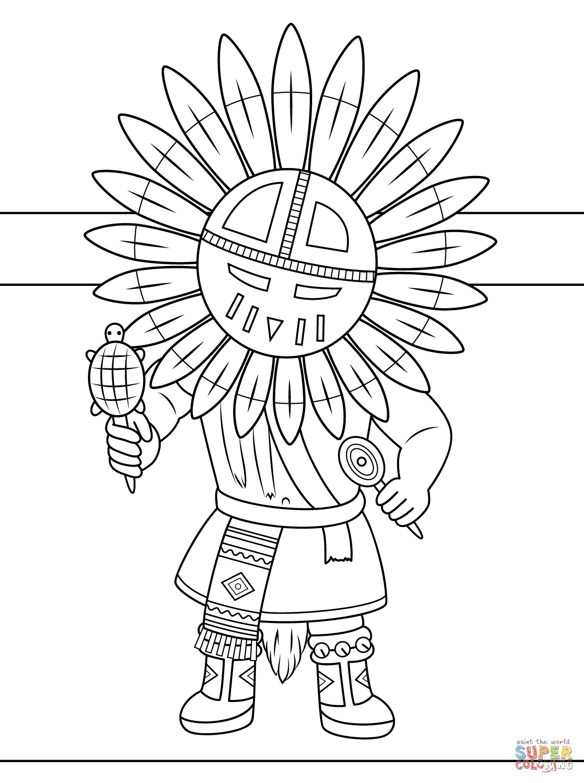 1175x1575 Noted Native American Coloring Pages Printable
