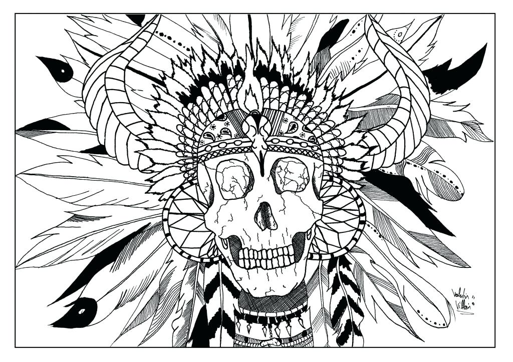 1024x723 Native American Coloring Pages Printable