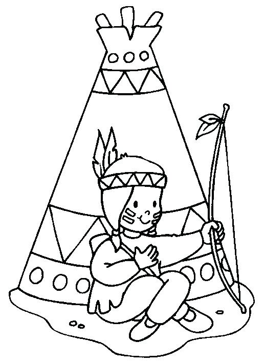 516x709 Native American Coloring Pages Printable Popular Native American