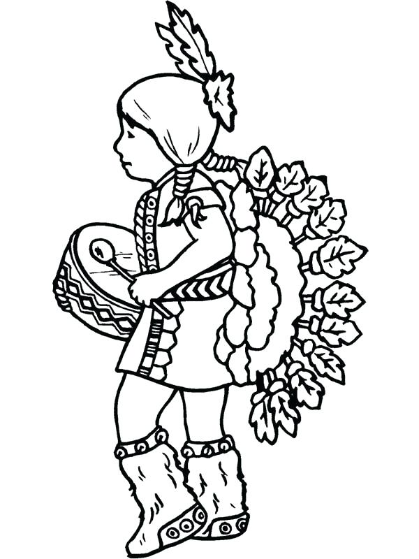 600x800 Native American Coloring Sheets Coloring Pages Native Coloring