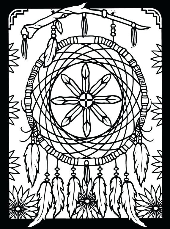 572x770 Native American Coloring Pages For Adults Native American Coloring