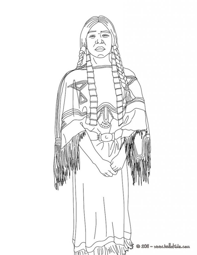 792x1024 Breathtaking American Coloring Pages For Kids Native Pdf African