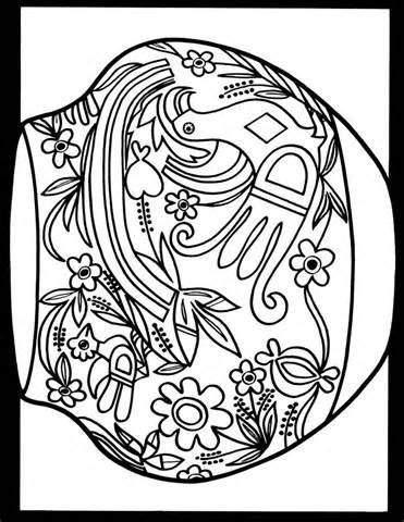 371x480 Pueblo Indian Coloring Pages Navajo Pattern Page Southwestern