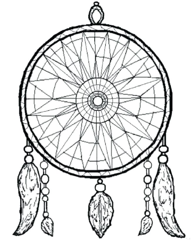 Native American Dreamcatcher Coloring Pages at GetDrawings ...