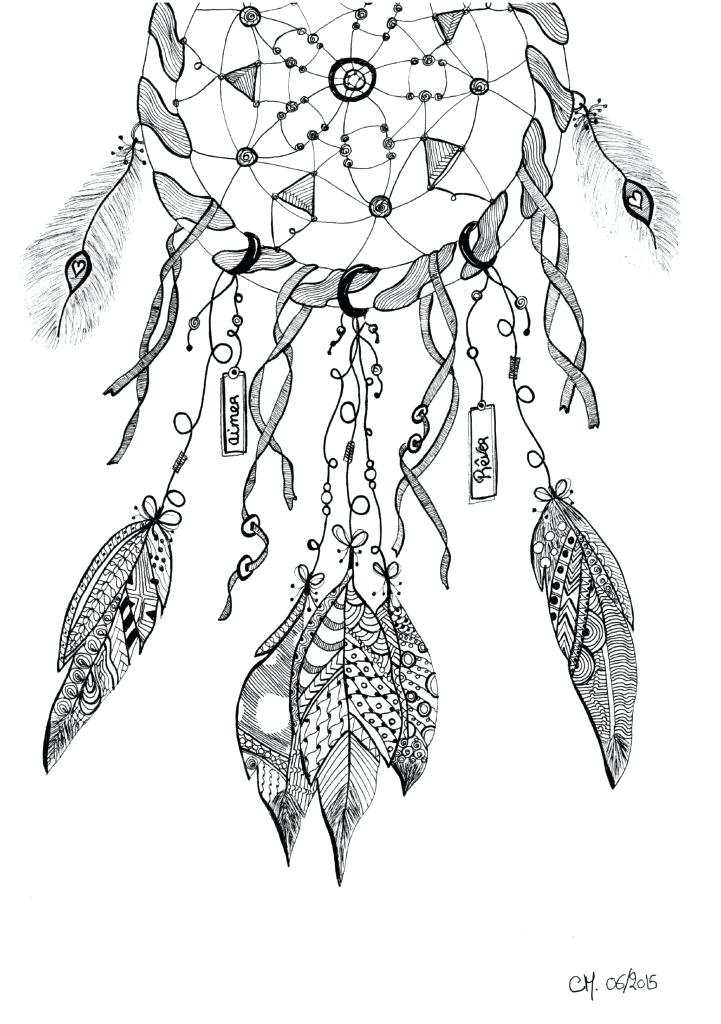 721x1024 Indian Dream Catcher Coloring Pages Images About Adult Coloring