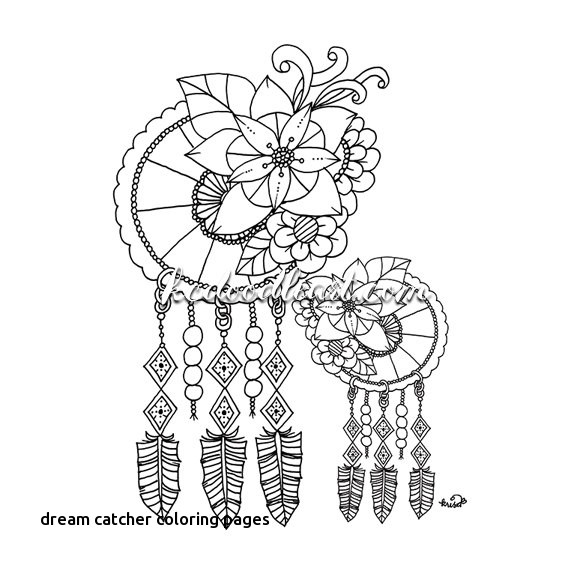 570x570 Dream Catcher Coloring Pages