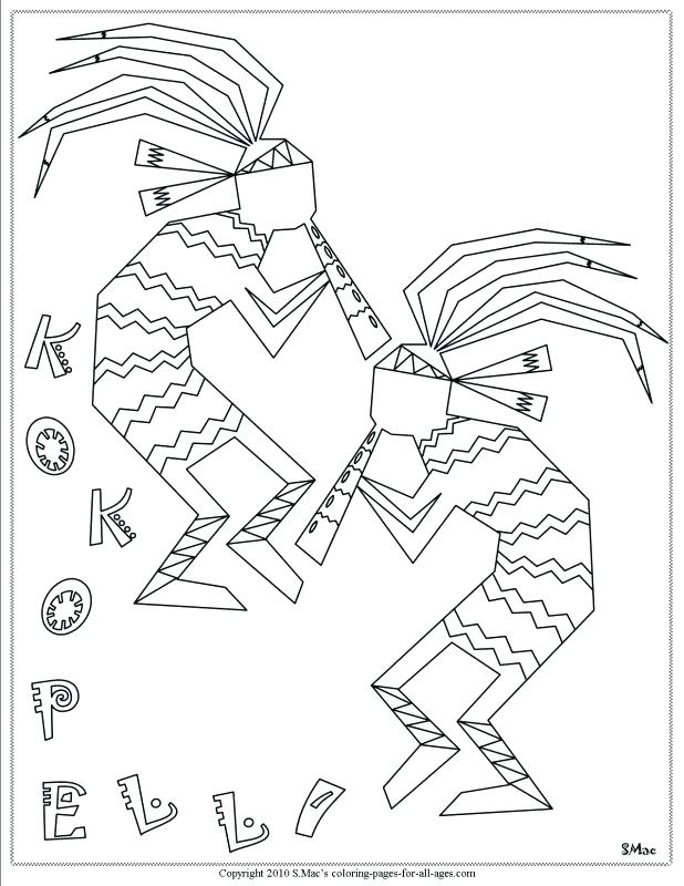 618x800 Indian Color Pages Coloring Pages Free Chief Native Girl To Print
