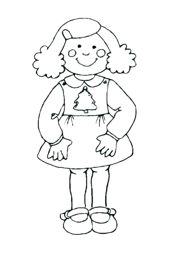 698x985 American Girl Coloring Pages Girl Coloring Pages Printable Girl