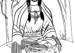 296x210 Native American Coloring Pages
