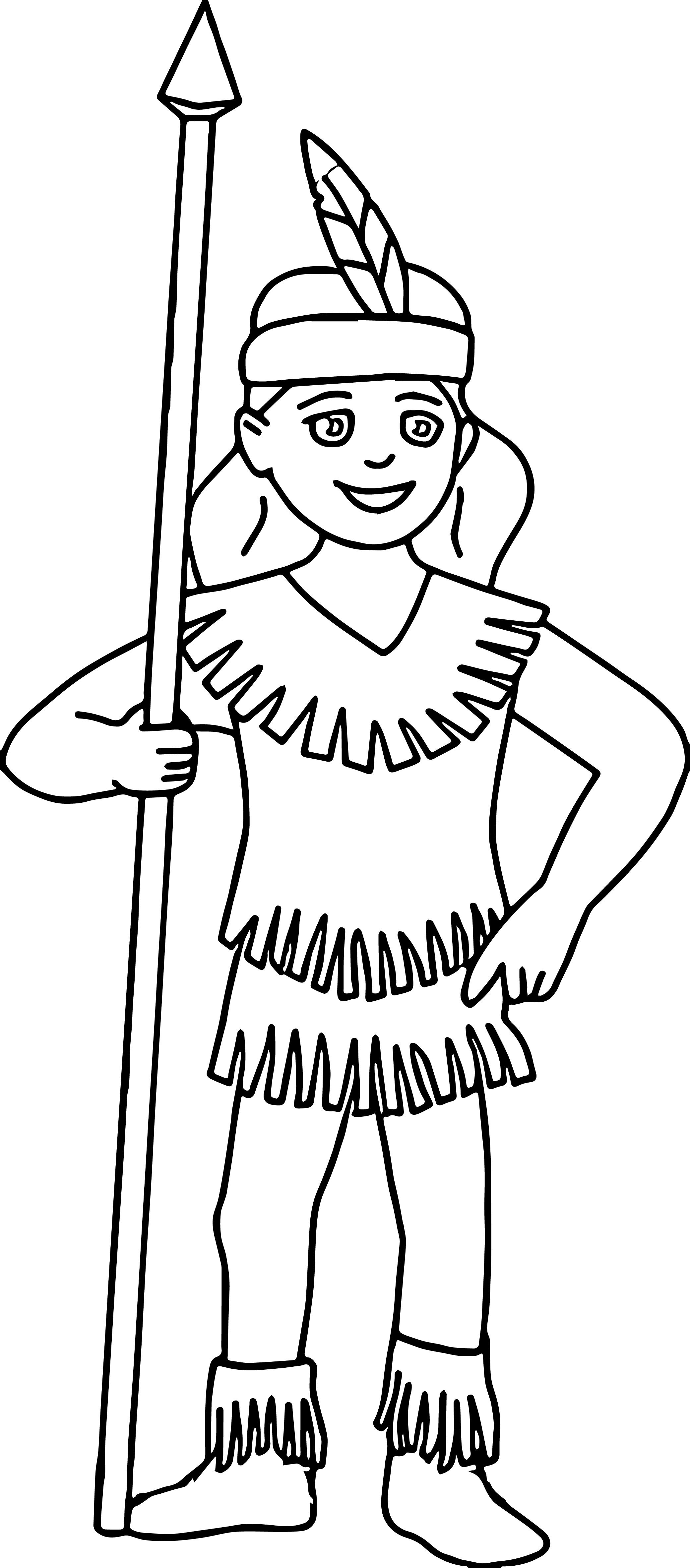 2081x4729 Native American Indian Girl Coloring Pages American Indian Girl