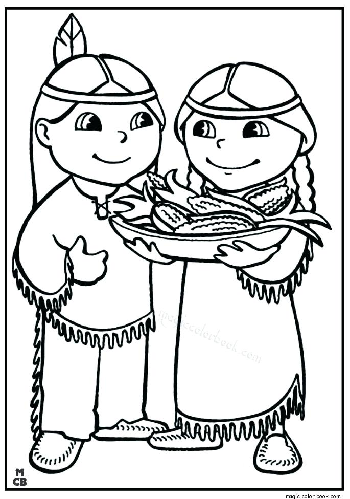 685x975 Free Native American Indian Coloring Pages