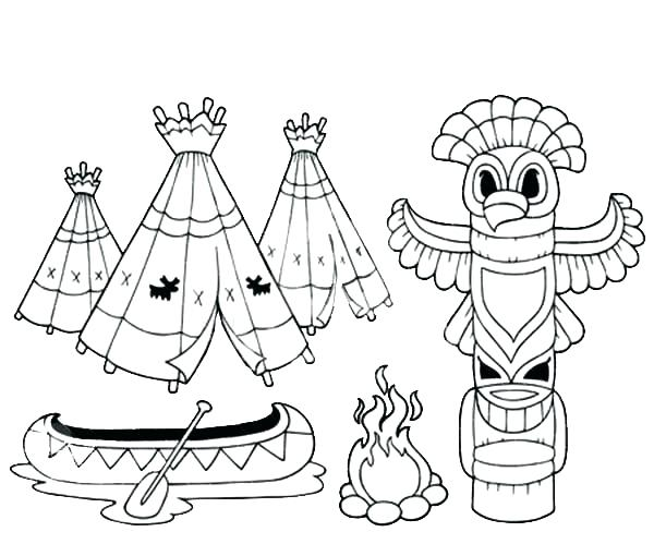 600x499 American Indian Coloring Pages Coloring Pages Coloring Book