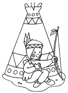 236x324 Native Americans Free Printable Coloring Pages