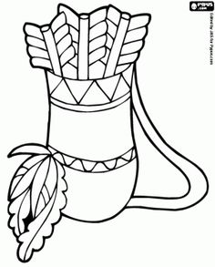 236x293 Native North American Indians Printable Coloring Pages Color