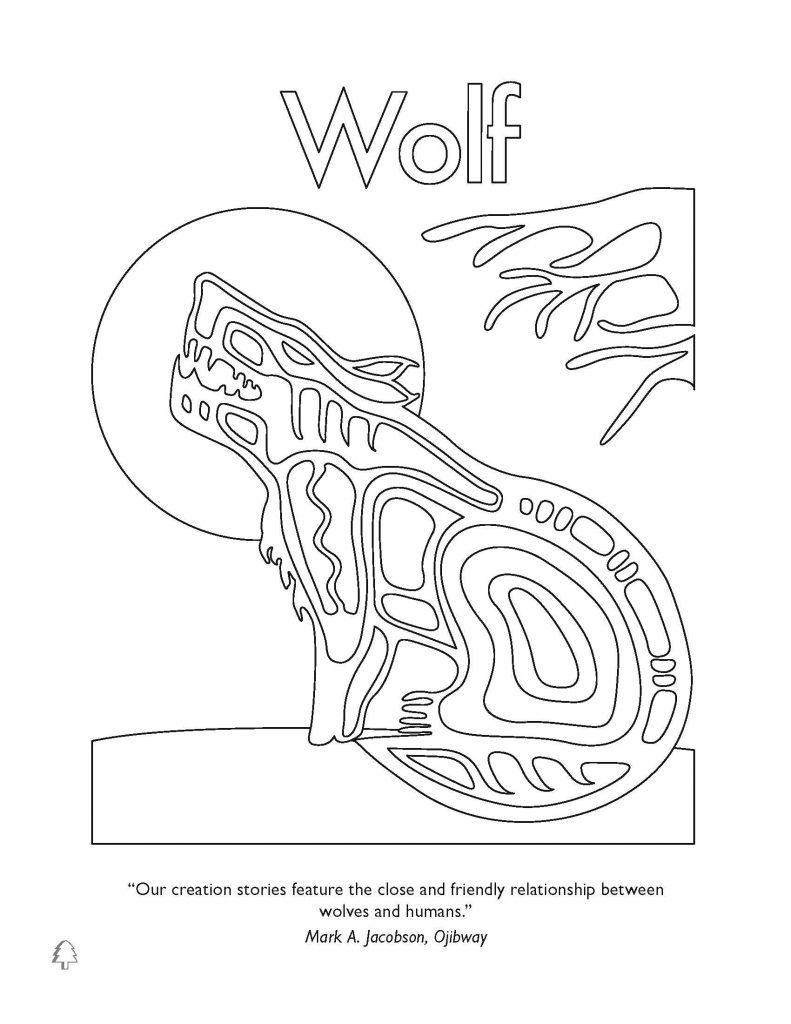 791x1024 Native American Symbols Coloring Pages
