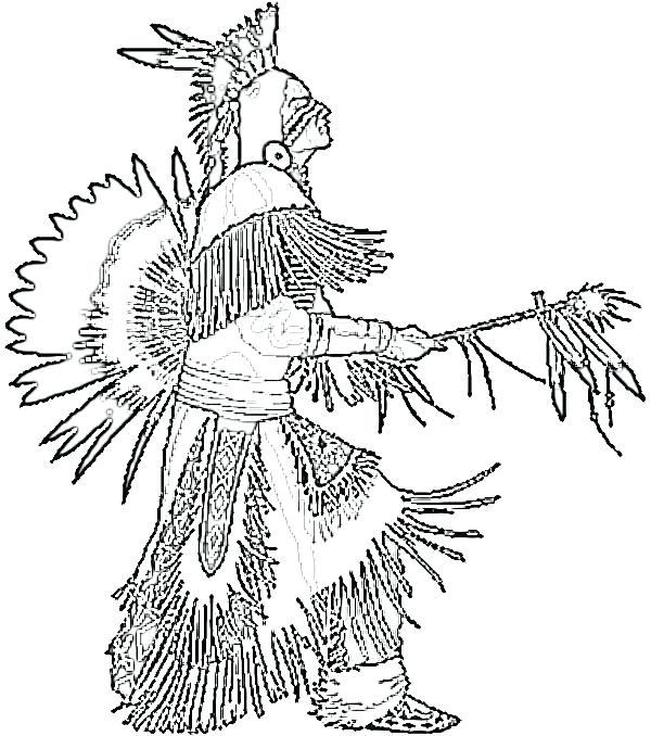 600x678 Indian Coloring Pages Native Coloring Pages Free Printable Indian