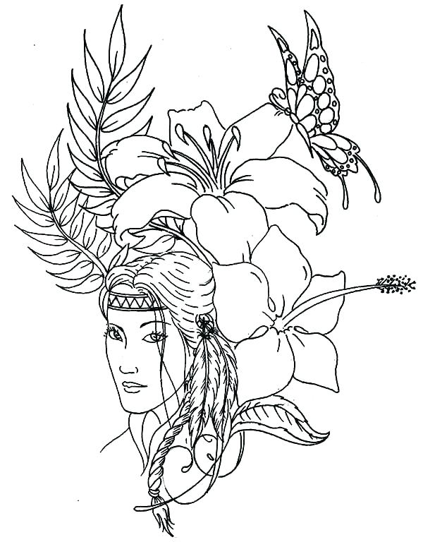 600x768 Indian Coloring Pictures Coloring Pages Native Coloring Book