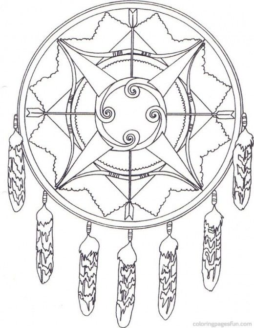 520x671 Native American Indian Coloring Books And Free Coloring Pages