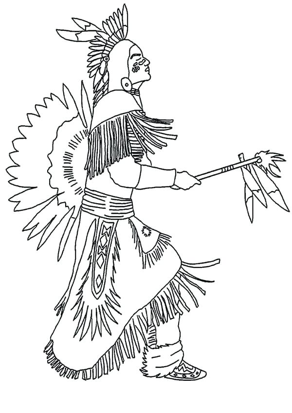 600x848 American Indian Coloring Pages Native Coloring Pages Native