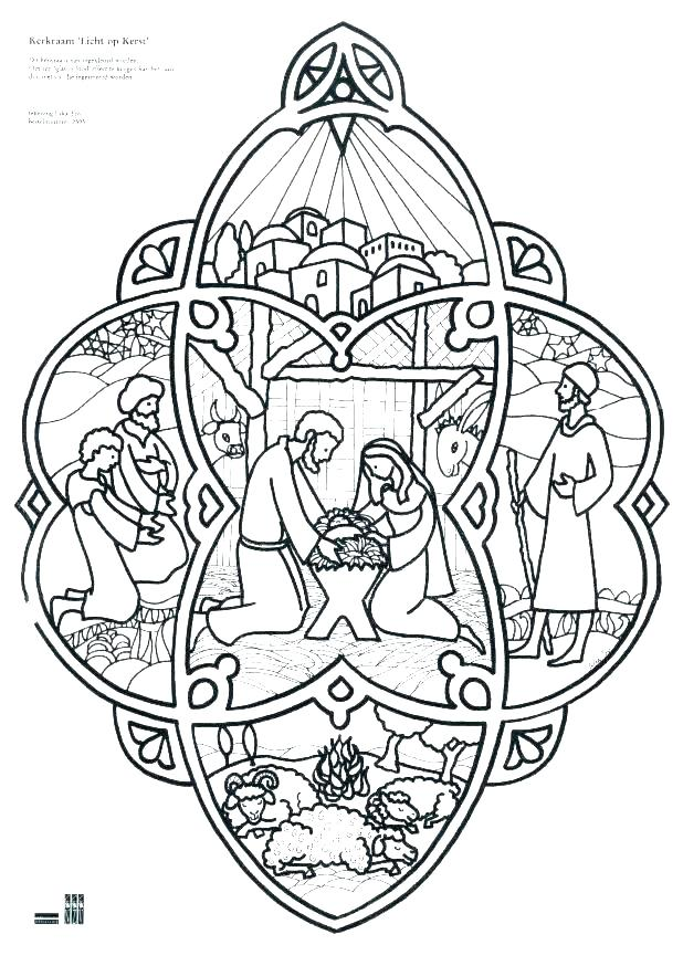 618x874 Nativity Scene Coloring Pages Manger Coloring Page Manger Coloring