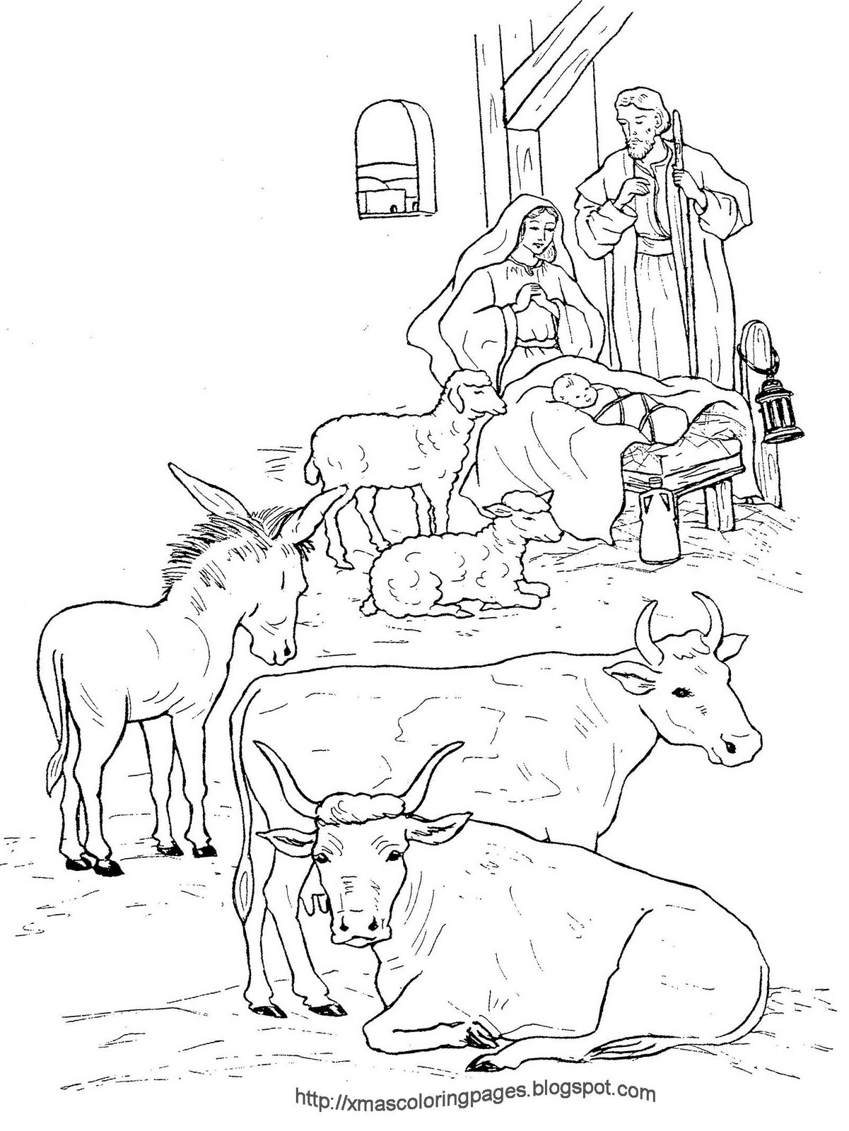 1201x1600 Xmas Coloring Pages