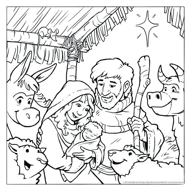 618x618 Printable Nativity Figures Nativity Scene Coloring Pages Printable