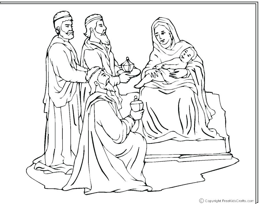 908x715 Nativity Coloring Nativity Scene Coloring Pages Pdf Brexitbook Club