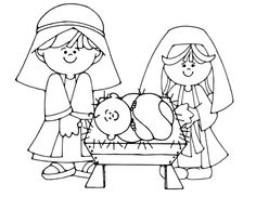 236x182 Nativity Coloring Page Plus Other Christmas Coloring Pages Ss