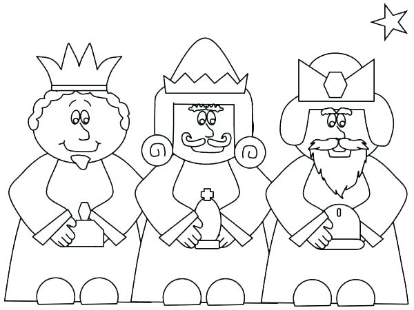 600x450 Nativity Coloring Pages Printable