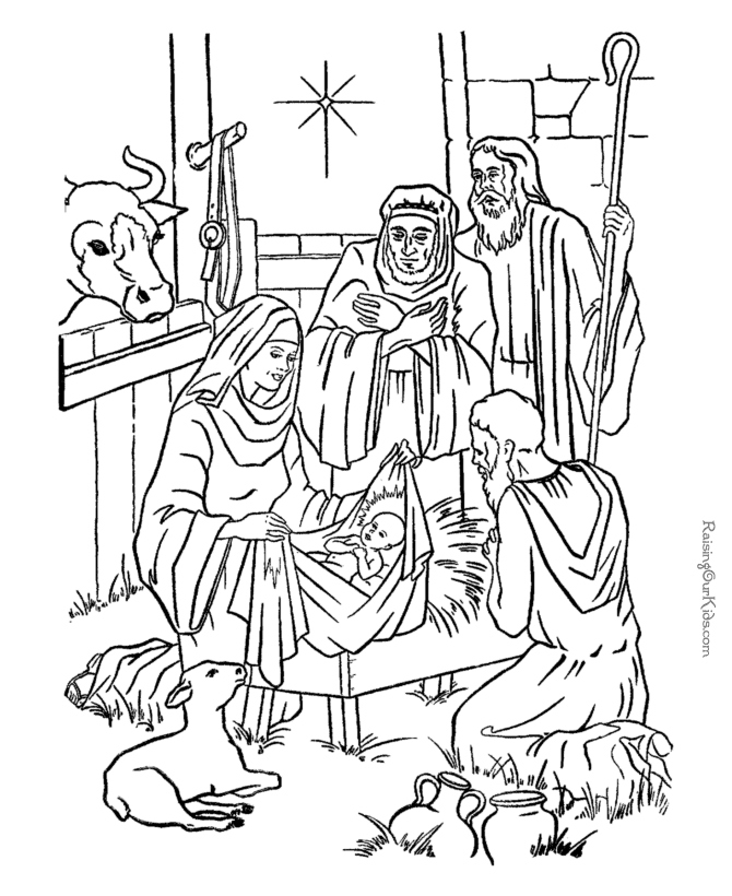 670x820 Nativity Coloring Pages Awesome Nativity Scene Coloring Page Az