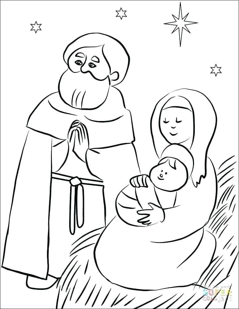 774x1001 Nativity Scene Coloring Pages Nativity Scene Coloring Pages