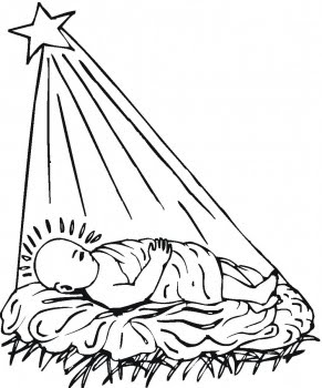 291x350 Christmas Star Coloring Pages Learn To Coloring