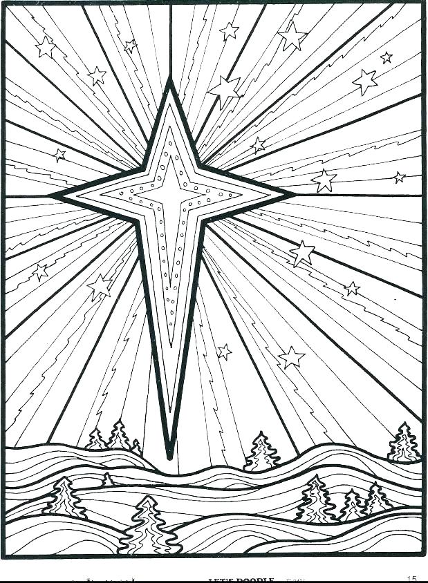 619x844 Christmas Star Coloring Pages Cute Star Coloring Page Star Wars