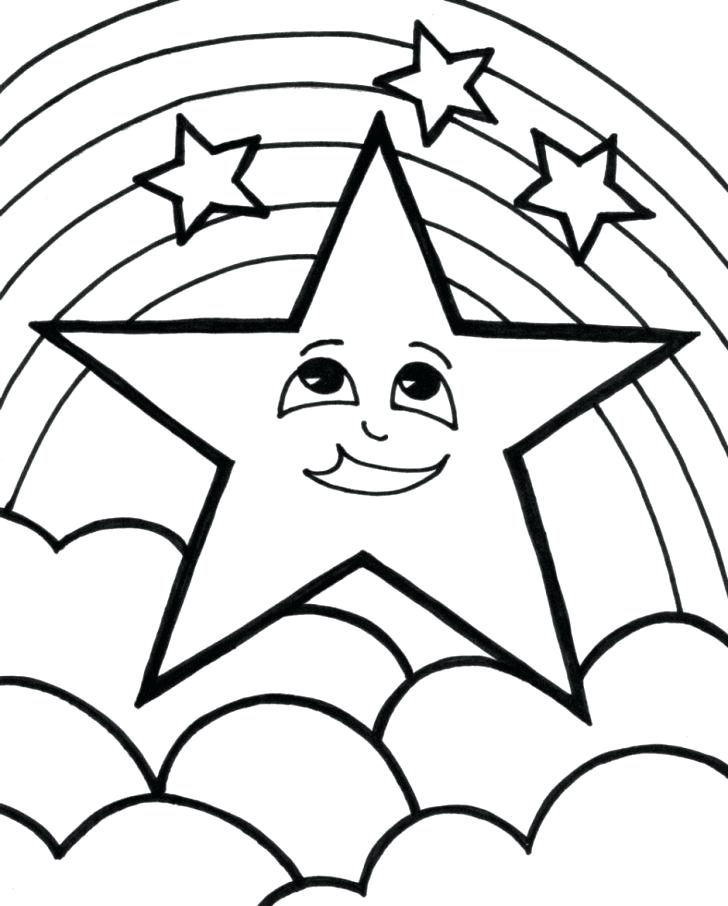 728x906 Christmas Star Coloring Pages Star Coloring Page Star Coloring