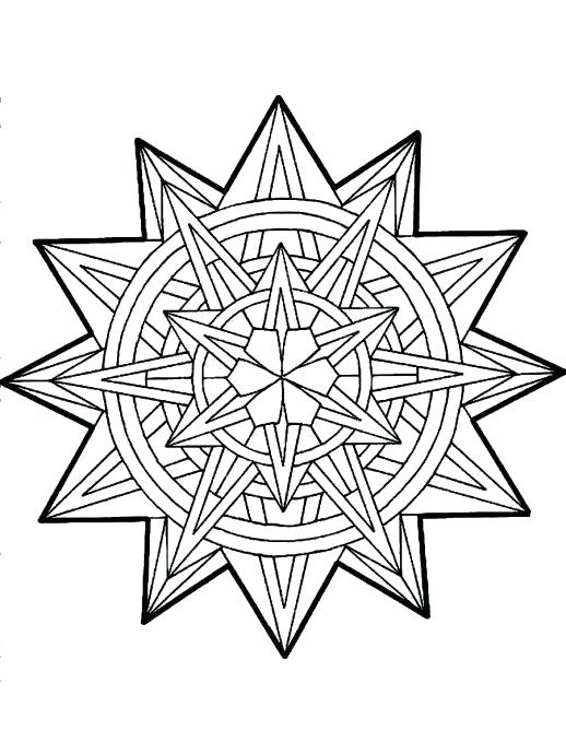518x679 Christmas Coloring Pages Tree Star Christmas Star Coloring Page