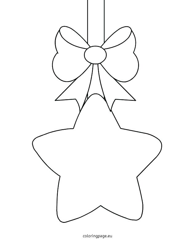 595x808 Christmas Star Coloring Page Coloring Pages For Kids Preschool