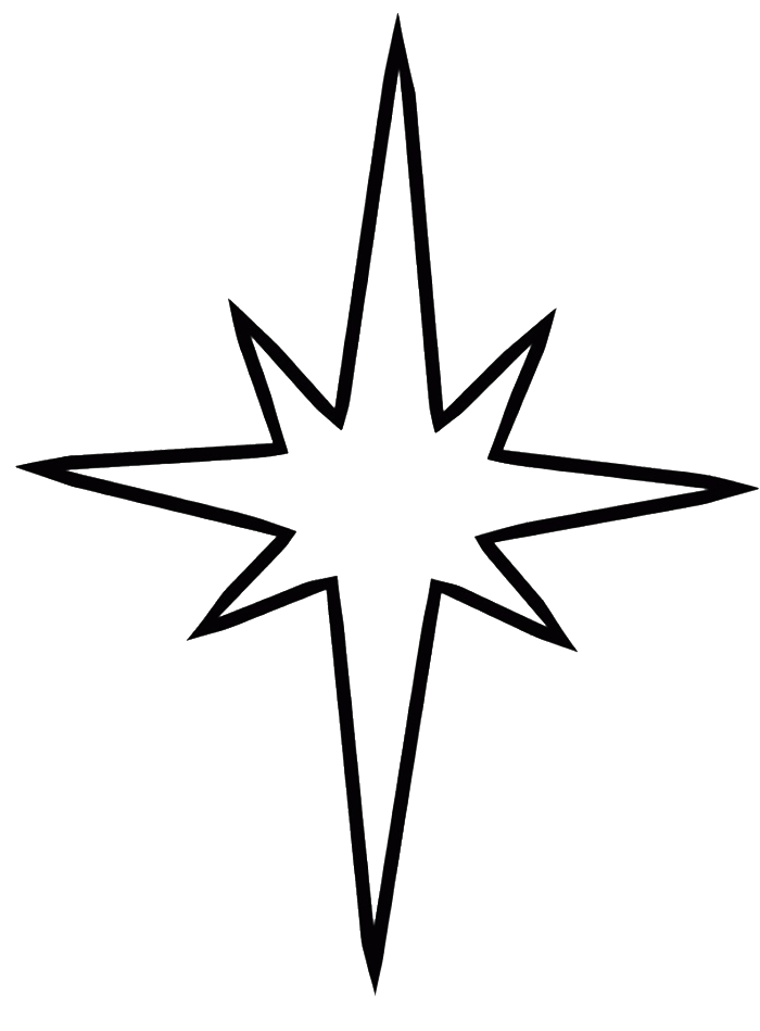 700x949 Star Christmas Coloring Pages Pictures Christmas Star Coloring