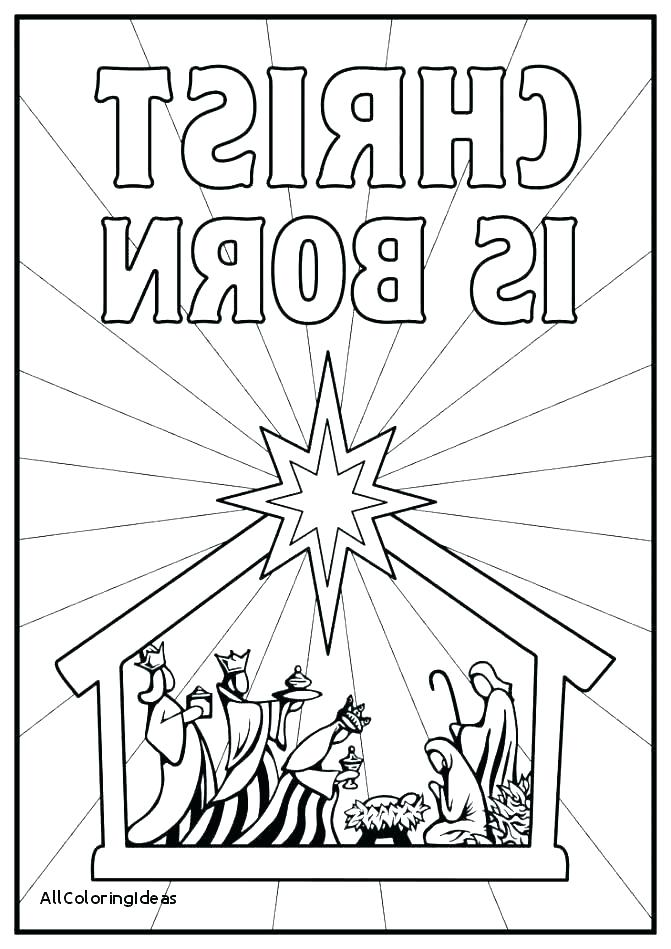 671x949 Coloring Pages Nativity Download Daily Coloring Pages Nativity