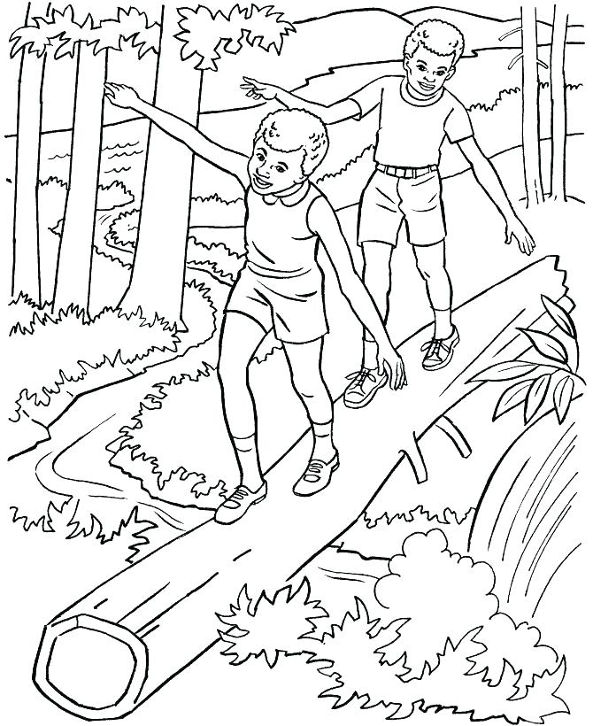 670x820 Nature Coloring Pages A Nature Coloring Pages For Adults