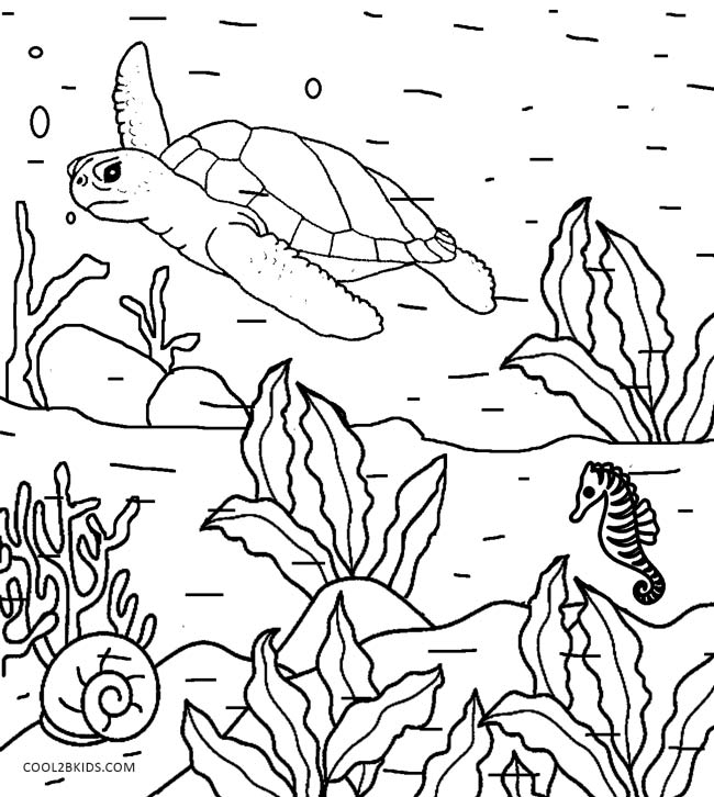 650x726 Printable Nature Coloring Pages For Kids