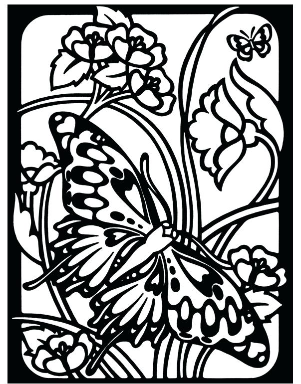 603x770 Stained Glass Coloring Books Stained Glass Coloring Pages Natural