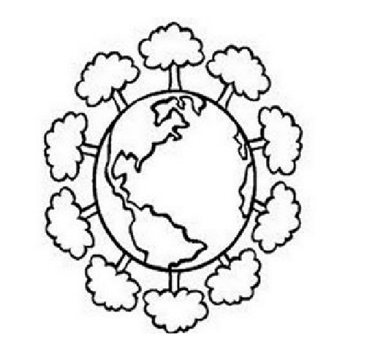 536x527 Earth Day Free Coloring Pages