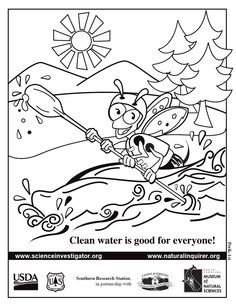 236x305 Our Natural Inquirer Bee Coloring Sheets
