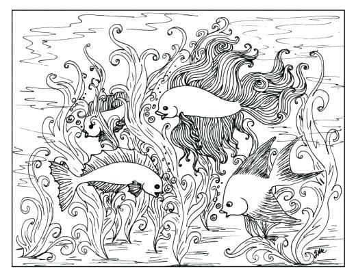 520x402 Nature Coloring Pages Coloring Pages For Adults Nature Stylist
