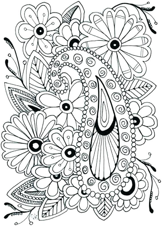 567x794 Nature Coloring Pages Printable Nature Coloring Pages For Adults